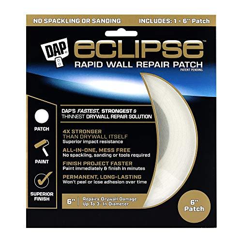 DAP 7079809165 Repair Eclipse Wall Patch, 6 Inch, Clear