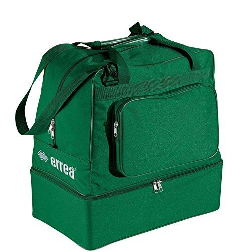 Errea Borsone Basic Kid, colore verde con fondo rigido
