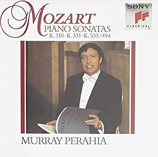 Mozart: Sonatas for Piano K.310, 331 & 533/494 by Murray Perahia (1992-10-06)