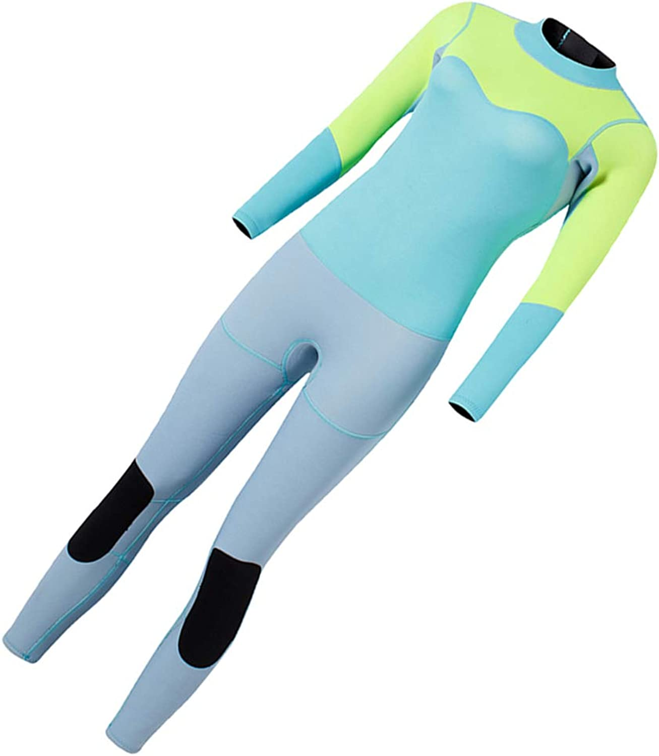 SM SunniMix Full Wetsuits 3mm Neoprene Swimsuit Perfect for Diving Surfing Snorkeling- One Piece Women Wet Suit Bright color