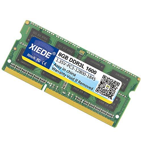 Sevenplusone licht en mooi, gemakkelijk te transporteren 1,35 V laagspanning DDR3L 1600 MHz 8 GB RAM-module dubbelzijdige zijkanten voor laptop, opslagcapaciteit 8 GB