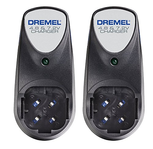 Dremel 760-01 (2 Pack) 4.8v-7.2v OEM Replacement Battery Charger # 760-01-2PK