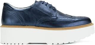 HOGAN Luxury Fashion Womens HXW3550AB00SV0U800 Blue Lace-Up Shoes | Fall Winter 19