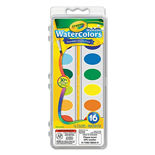 Crayola Washable Watercolors16 Colors
