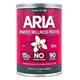 Designer Protein Aria, Vanilla, 12 Ounce, Women's Wellness Protein...