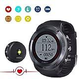 CUBOT F1 Fitness Armband Smartwatch mit Pulsmesser, Herzfrequenz, Aktivitätstracker, Wasserdicht IP67 - Schrittzähler, kompatibel mit iOS 8 oder höher/Android 4.3 oder höher für 25-30...