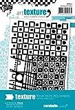 Carabelle Studio Sketch Placa Textura, Caucho, Blanco, 9.0x13.5x0.5 cm