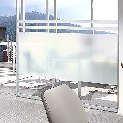 MI CASA Vinilo para Ventana 61CM x 200CM Privacidad Pegatina Opaco Translúcida Adhesiva Decorativa de Vidrio Autoadhesiva Baño Despacho Cocina Control de Calor Anti Rayos UV Vinilo ácido.