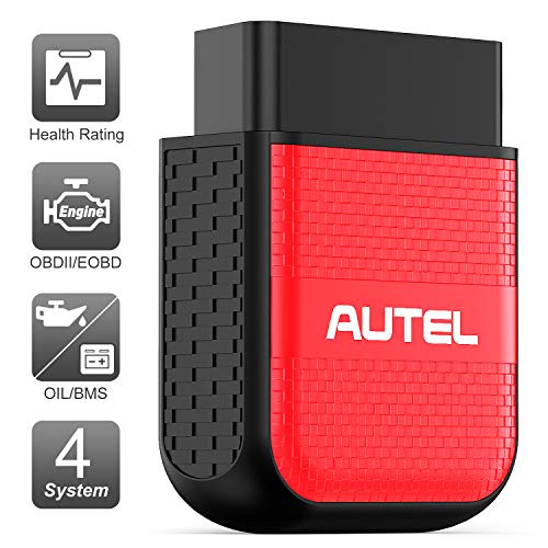 Autel OBD2 Scanner Bluetooth Diagnostic Code Reader - MaxiAP AP200H Code Scanner Health Check with Health Rating Reports OBDII ENG/Transmission/SRS/ABS Diagnosis Oil/BMS Service Resets (Android/iOS)