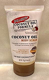 Palmer's Coconut Oil Formula with Vitamin E Body Scrub with Raw Coconut Sugar. 4.4 OZ