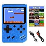 Etmury Handheld Spielkonsole, 400 Klassische Spielen 2.8-Zoll-LCD-Bildschirm tragbare Retro-spielkonsole Unterstützt das Anschließen an den TV-Anschluss und Zwei Spieler für Kinder und Erwachsene