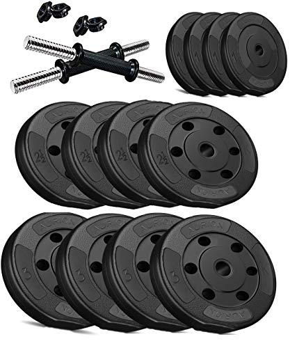 Aurion Fitness PVC Dumbell Set
