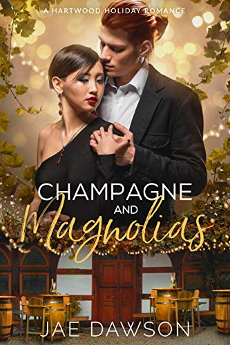 Champagne and Magnolias: A Small Town New Year's Eve Romance (A Hartwood Holiday Romance) (English Edition)