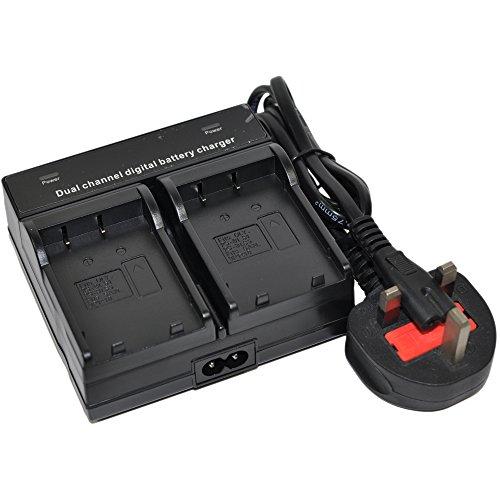 DSC-HX90 - Batería para cámara digital Sony Cyber-Shot (ion de litio, 1080 mAh) 1 cargador dual de CA.