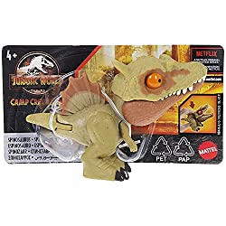 8. Jurassic World Camp Cretaceous Snap Squad Spinosaurus