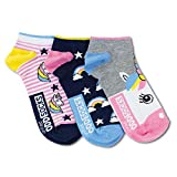 trendaffe Einhorn Füßlinge Socken in 37-42 im 3er Set - Strumpf