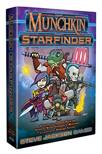 Steve Jackson Games- Munchkin Starfinder, Multicolore, SJG4471