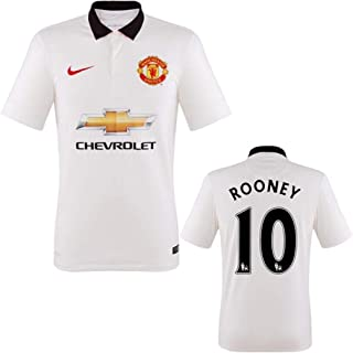 Nike 2014-15 Manchester United Away Jersey (Rooney 10) Size Adult Small
