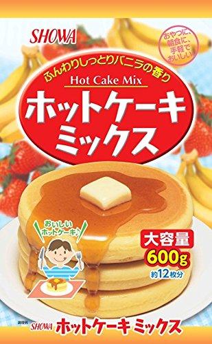 昭和産業 昭和 SHOWA ホットケーキミックス大容量 600g
