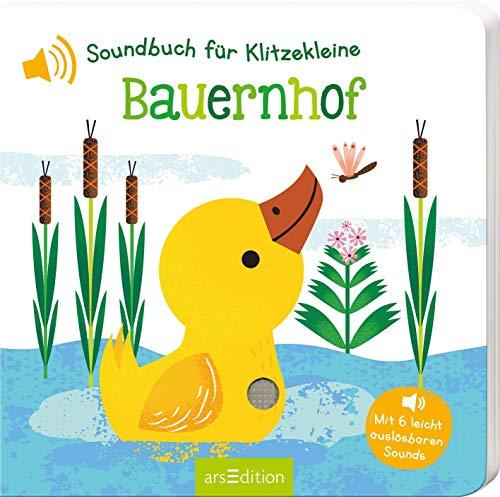 Soundbuch für Klitzekleine: Soundbuch für Klitzekleine - Bauernhof: mit 6 leicht auslösbaren Sounds