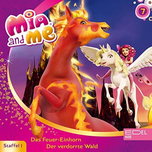 Das Feuer-Einhorn / Der verdorrte Wald. Das Original-Hörspiel zur TV-Serie Titelbild