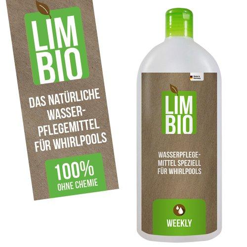 Limbio chlorfreie Wasserpflege, biologische Whirlpool Wasserpflege Whirlpool 500 ml