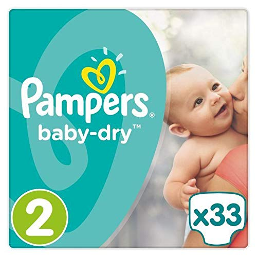 Pampers 81663639 Baby-Dry Pants windeln, weiß