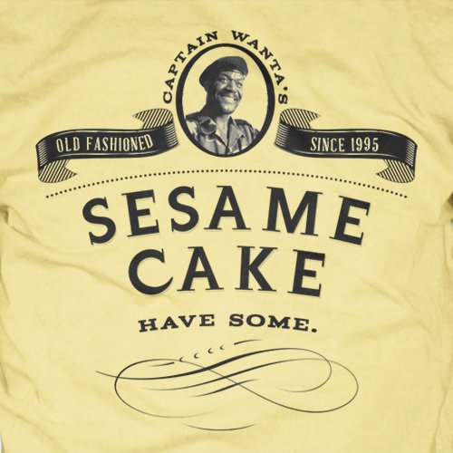 Congo Movie T-Shirt - Stop Eating My Sesame Cake, captain wanta, funny meme, tim curry, delroy lindo