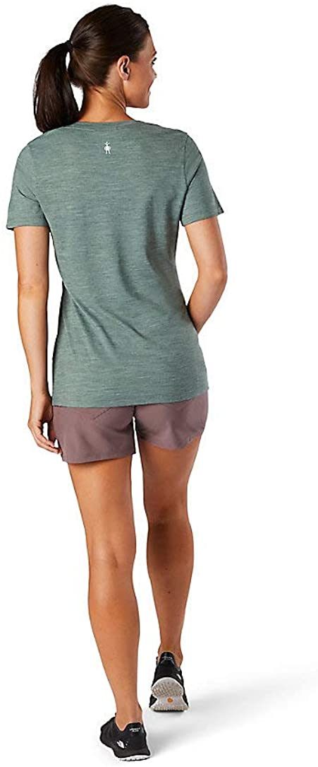 Smartwool Womens Merino Sport 150 Camping With Friends Graphic Tee