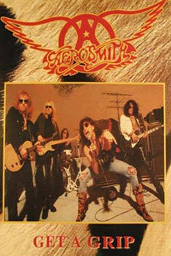 Aerosmith - Cowfur - Musikposter - Grösse 64x90 cm