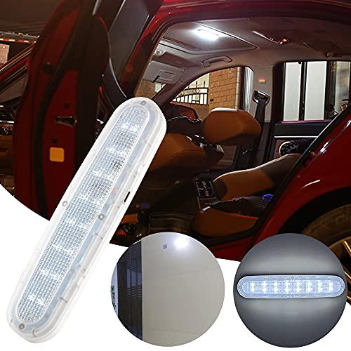 Luz interior de coche LED Luz de matrícula Luz trasera Luz de lectura de coche LED Luz de noche de 16 LED blanca hielo Luz de puerta Luz de puerta Doble brillo Doble brillo Carga USB