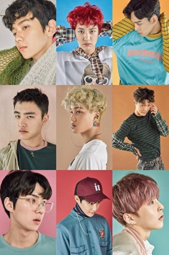 EXO [EX'ACT] 3rd Album CHINSES LUCKY Ver CD + 124p Photo Book+Photocard