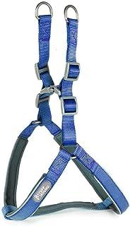 Nfudishpu Pet Traction Rope Dog Adjustable Basic Halter Harness Pet Soft Comfortable Jacquard Quilted Dog Safe Portable