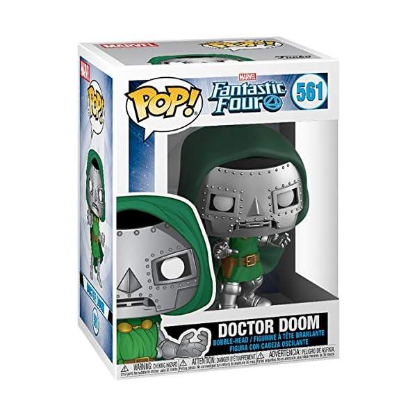 Funko Pop Doctor Doom (Los Cuatro Fantásticos 561) Funko Pop Los Cuatro Fantásticos