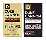 Duke Cannon Bar Soap Combo: Buffalo Trace Bourbon Soap and Big American 'Smells Like Accomplishment'