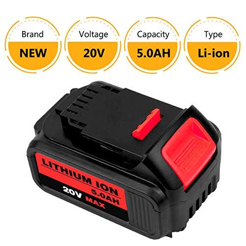 Product Image 2: 6Packs 20Volt 5.0Ah DCB204 DCB205 Replacement Battery for Dewalt 20V Battery Lithium XRP Compatible with DCB204 DCB205 DCB206 DCB205-2 DCB200 DCB180 DCD985B DCD771C2 DCS355D1 DCD790B