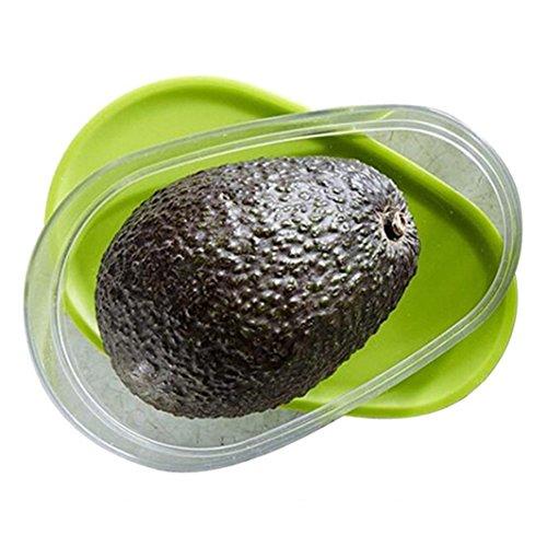 Avocado - Caja de almacenamiento para frutas, verduras, alimentos frescos y reutilizables, accesorios de cocina