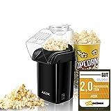 Popcornmaschine, Popcorn Maker Machine für Zuhause, Heissluft Popcornmaker Ohne Fett Fettfrei...