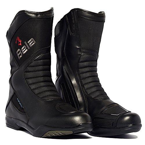 Botas para Hombres Bela Air Tech Botas de Moto Touring (48)