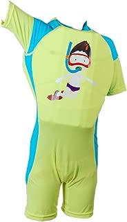 Kids Float Swimsuit, Baby Boys Girls Float Suit Swimsuit Toddler Kids One Piece Buoyancy Swimwear