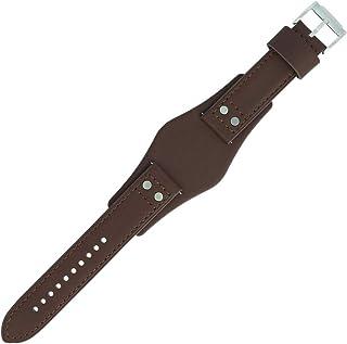 Fossil CH-2565 | LB-CH2565 - Bracelet de montre - 22 mm - Cuir - Marron - FS-2565