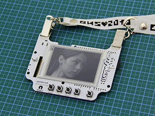 In ZIYUN BADGEr_v4,An open source badge,Programmed using the Arduino IDE,Av micro SD...