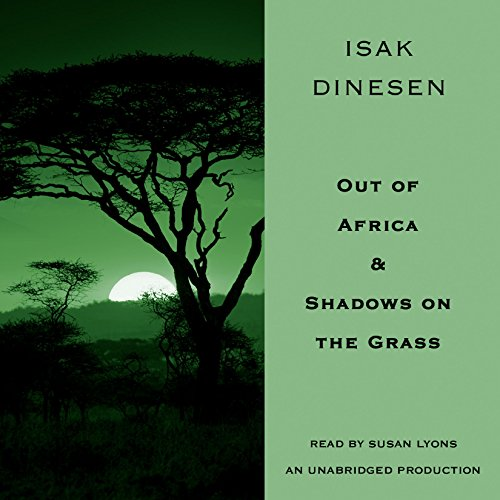 Out of Africa & Shadows on the Grass cover art