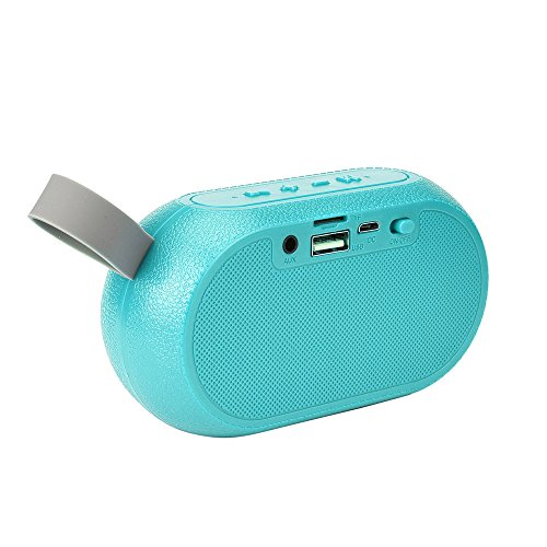 OPAKY Tragbarer Bluetooth-Lautsprecher Super Bass Stereo-Bluetooth-Lautsprecher für iPhone, Samsung usw.
