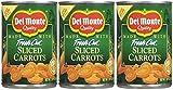Del Monte Sliced Carrots - 14.5 oz - 3 pk