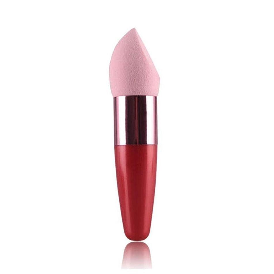 DZT1968 Women Cosmetic Liquid Cream Foundation Concealer Sponge Lollipop Brush (Pink)