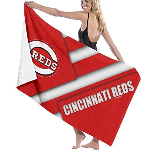 Ci-ncinnati Reds Quick Dry Bath Towels Extra Large for Women/Men/Kids Beach/Swimming/Hiking/Camping Towel