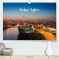 Berliner Skylines (Premium, hochwertiger DIN A2 Wandkalender 2022, Kunstdruck in Hochglanz): Berlin bietet von oben viele schoene Ansichten. (Monatskalender, 14 Seiten )