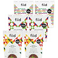 3 Flavours - 2X Smoky Mexican Black Bean Chilli - 2X Italian Sundried Tomato & Lentil Ragu - 2X Hearty Moroccan Chickpea Tagine - Nourishing Plant Based Meals - Vegan - 6 x 400g - by Fiid