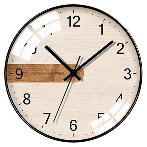 YITIANTIAN Reloj de Pared Silenciar Simple Reloj de Pared de visitantes Salón...
